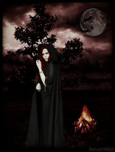 Magick Wicca Witch Witchcraft:  In the dark of night...