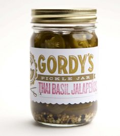 gordys pickle jar #packaging #design