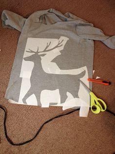 DIY Sweater estampado.