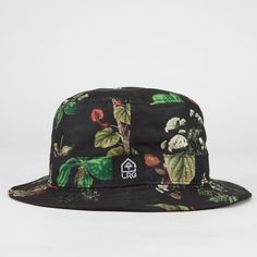 1fe61449a7f Allover plants print with solid reverse. Mens Bucket HatsHats ...