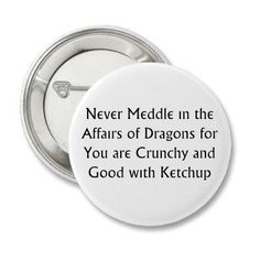 Never Dragons Pins from Zazzle.com
