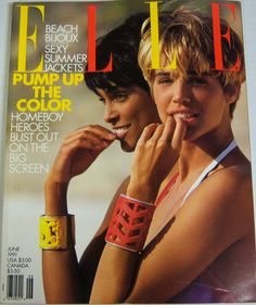 JUNE 1991, ELLE US, EMMA S. AND ...