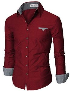 Doublju Mens Fitted Button Down Collar Checkered Polo Shirt WINE,S Doublju http://www.amazon.com/dp/B00KBJBH9S/ref=cm_sw_r_pi_dp_-k2Dwb1EHZ4NM