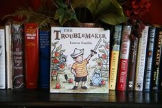 I was sent a copy of The Troublemaker by Lauren Castillo The Troublemaker by Lauren Castillo Release Date: 2014-06-03 Bored and restless on a summer day, a little boy steals his sister's bunny and sends it on an adventure. He is well satisfied with the results—until his own stuffed animal …Share this: