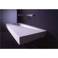 Lavabo rettangolare in Corian® FOLIO By Boffi design Neunzig° Design Contemporary Bathrooms, Modern Bathroom, Handmade Home, Toilette Design, Guest Toilet, Boffi, Concrete Sink, Restroom Design, Bathroom Trends
