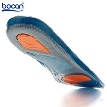 the best Hot gel sport shoe insoles men and woen's elastic cushion protect comfy arch support pads accessories