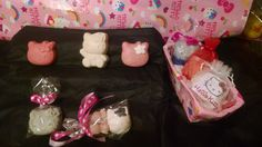 Hello Kitty Soaps  $3.50 to $5. Pink Sugar Fragrance