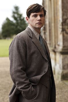 Allen Leech, in Downton Abbey. This must have been the first season or something, cuz look how young he is!!