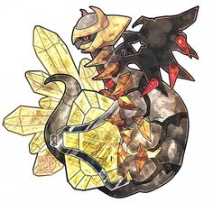 Giratina// my bby. Tbh giratina was my all time favourite Pokemon