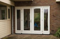 Happy House, Garage Doors, Windows, Outdoor Decor, Home Decor, Glass House, Balcony, Homemade Home Decor, Window
