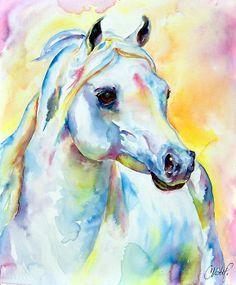 bruce white carousel horse - Google Search