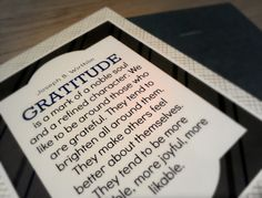 FHE - Gratitude
