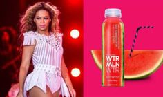 Sales Growth of 450%, Celebrity Partnership Brokering, Celebrity Seeding & Influencer Campaign for WTRMLN WTR with Beyonce