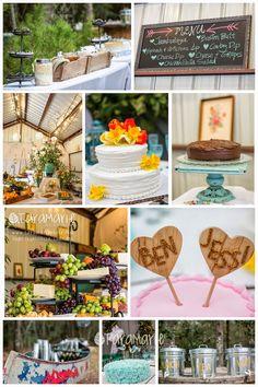 Outdoor whimsical wedding