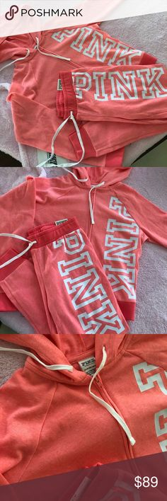 Pink set 🍑 Brand new PINK Victoria's Secret Sweaters