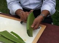 How to Make Aloe Vera Gel. Aloe vera gel is one of nature's great healers. To make your own, all you need is a healthy aloe plant. Aloe vera gel can be mixed with. Crème Aloe Vera, Home Remedies, Natural Remedies, Doctor Shows, Eye Sight Improvement, Healthy Eyes, Healthy Food, Foot Detox, E 10