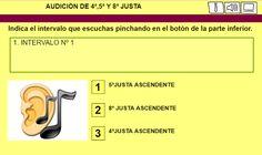 El Lenguaje Musical de Fátima: IDENTIFICAR AUDITIVAMENTE INTERVALOS DE 4ª,5ª Y 8ª...