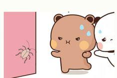 Cute Cartoon Pictures, Love Pictures, Bear Gif, Cute Love Gif, Little Panda, Couple Illustration, Cute Cartoon Wallpapers, Chibi, Pikachu
