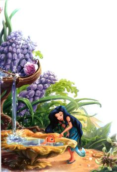 The World of Fairies: At the Dawn of Pixie Hollow Tinkerbell Movies, Tinkerbell And Friends, Tinkerbell Fairies, Disney Fairies, Disney Magic, Tinkerbell Disney, Disney Pixar, Disney And Dreamworks, Disney Art