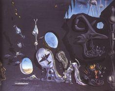 Tableaux sur toile, reproduction de Dali, Melancholy Atomic And Uranium Idyll, Salvador Dali Gemälde, Salvador Dali Paintings, Catalogue Raisonne, Poster Prints, Art Prints, Canvas Prints, Spanish Artists, Oeuvre D'art, Les Oeuvres