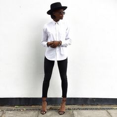 #shehadeverything does minimalist style perfectly. #InMyJBRAND