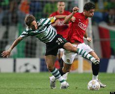 Joao Moutinho v Ronaldo no Manchester United