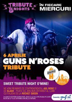 Miercuri, 6 Aprilie 2016, ora 22:30, Beraria H, Bucuresti Guns N Roses, Axl Rose, Queen, Rock, Concert, Movie Posters, Film Poster, Skirt, Popcorn Posters