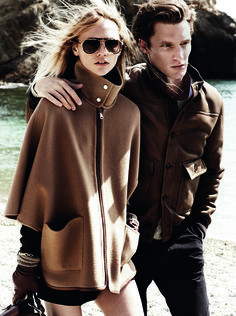 The Campaign - FW ' 14/15 Collection The Campaign - FW ' 14/15 Collection starring #SashaPivovarova & #ShaunDeWet by Mario Testino #massimodutti #fwcollection  by Mario Testino #massimodutti #fwcollection