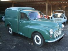 """This was our family car for about 10 years. It was called """"Genevive"""" and it had to be started with a crank handle on cold days. Morris Minor, Classic Motors, Small Cars, Cold Day, 10 Years, Supreme, Vans, Handle, Trucks"""