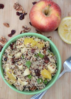 Citrus Fall Quinoa Salad
