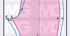Blog de costura fácil con patrones de costura que puedes imprimir en casa y confeccionar tu ropa a medida Sewing Collars, Sewing Pants, Workout Pants, Chart, Map, Scrappy Quilts, Rug Loom, Fabric Sewing, Sewing Tutorials