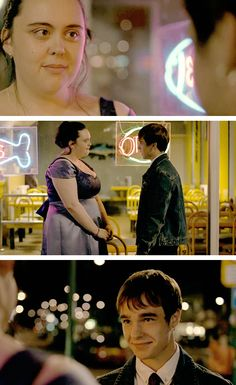 """I don't believe you."" ""I don't care if you don't believe me.""  -My Mad Fat Diary, S01E06"