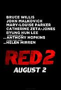 Directed by Dean Parisot. With Bruce Willis, Helen Mirren, John Malkovich, Anthony Hopkins. Retired C. Agent Frank Moses (Bruce Willis) reunites his unlikely team of elite operatives for a global quest to track down a missing portable nuclear device. Red 2 Movie, New Movies Coming Soon, Mary Louise Parker, John Malkovich, Movies 2014, Academy Award Winners, Anthony Hopkins, Catherine Zeta Jones, Helen Mirren