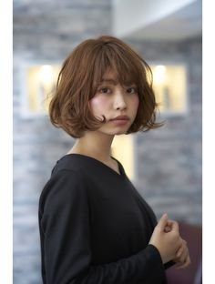 Pin by Jeric Salon on Wavy Perm Hairstyles in 2019 Pin by Jeric Salon on Wavy Perm Hairstyles in 2019 Curly Hair Styles, Short Curly Hair, Medium Hair Styles, Short Hair Cuts, Wavy Hair, Girl Short Hair, Angled Bob Hairstyles, Curly Bob Hairstyles, Wavy Perm