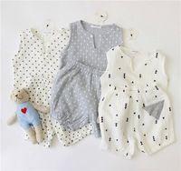 Ins Kids Character Clothing Costume Girls Summer Clothes Boys  Set Summer Cotton Gauze Cloth And Shorts Ensemble Enfant Cicishop