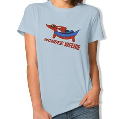 Wonder Weenie Dachshund Superhero Shirts - The Smoothe Store - 2