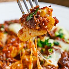 Gnocchi Poutine with Short Rib Ragu - how could this be bad? Would someone make this for me? @iamdenniskim
