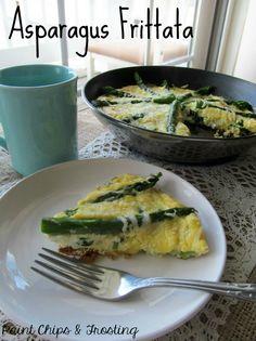 Parmesan Asparagus Frittata