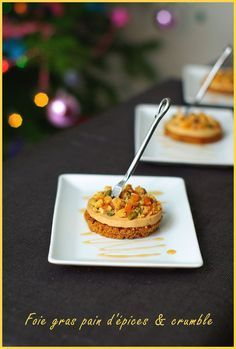 Fruit Crumble, Chorizo, Food Presentation, Tapas, Entrees, Waffles, Food And Drink, Appetizers, Salmon