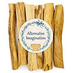 Alternative Imagination Premium Palo Santo Holy Wood Incense Sticks for Purifying Cleansing Healing Meditating Stress Relief. Natural and Sustainable Wild Harvested. Wiccan Decor, Crystal Pendulum, Raw Rose Quartz, White Sage Smudge, Smudge Sticks, Incense Sticks, Autumn Trees, Stress Relief, Saints