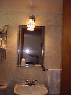 old bathroom finishes and fixture