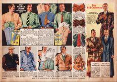 Vintage Mens Clothing Advertisement (1933) #vintageclothing #1930s #mensfashion #vintagecatalogs from RetroWaste.com