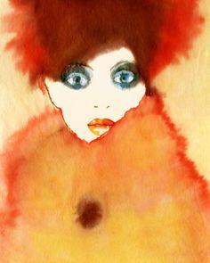 Fashion illustrations by Margot Mace   Partfaliaz