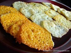 #Healthy Recipe: Easy Cheese Crackers #lowcarb