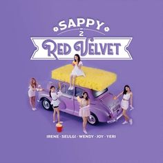RED VELVET SAPPY / JAPAN SINGLE album cover  by LEAlbum