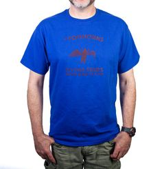The Foghorns blue Pig t-shirt – Knick Knack Records