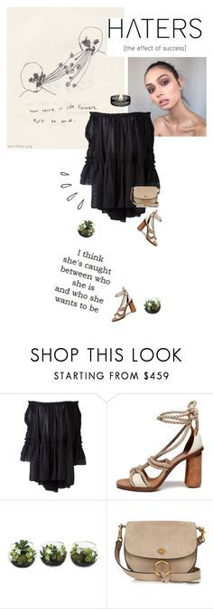 """""""""""You're seeking something, but at the same time you're running away from all you're worth."""" -Haruki Murakami, Kafka on the Shore"""" by are-you-with-me ❤ liked on Polyvore featuring Chloé, Mulberry, Old Navy and Vanessa Mooney"""