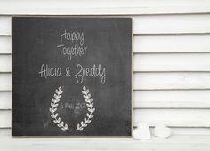 **So einzigartige wie Du - liebevolle Ideen für den schönsten Tag im Leben** Das wundervolle Hochzeitsgeschenk wird in liebevoller Handarbeit angefertigt und mit den persönlichen Initialen des...