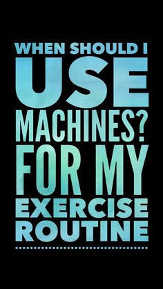 Try these exercise machines next time you are building your gym workout routine. Great for strength training, weight loss, and fitness results. #gymtime #workouttips #exerciseplan