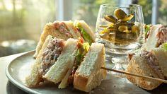 Sandwich jambon haché façon club | Signé M Picnic Potluck, Cold Meals, Wrap Sandwiches, Facon, Lunch, Beef, Tva, Cooking, Wraps